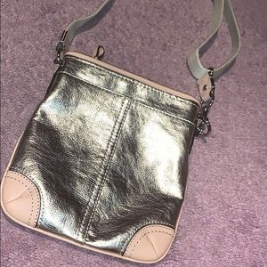 Metallic Coach Bag